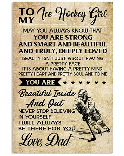 TO MY ICE HOCKEY GIRL - DAD