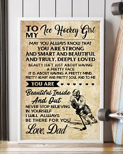 TO MY ICE HOCKEY GIRL - DAD 11x17 Poster lifestyle-poster-4