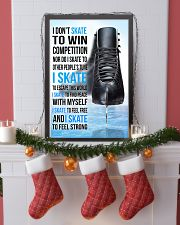 15- I DON'T SKATE TO WIN COMPETITION - black shoes 11x17 Poster lifestyle-holiday-poster-4