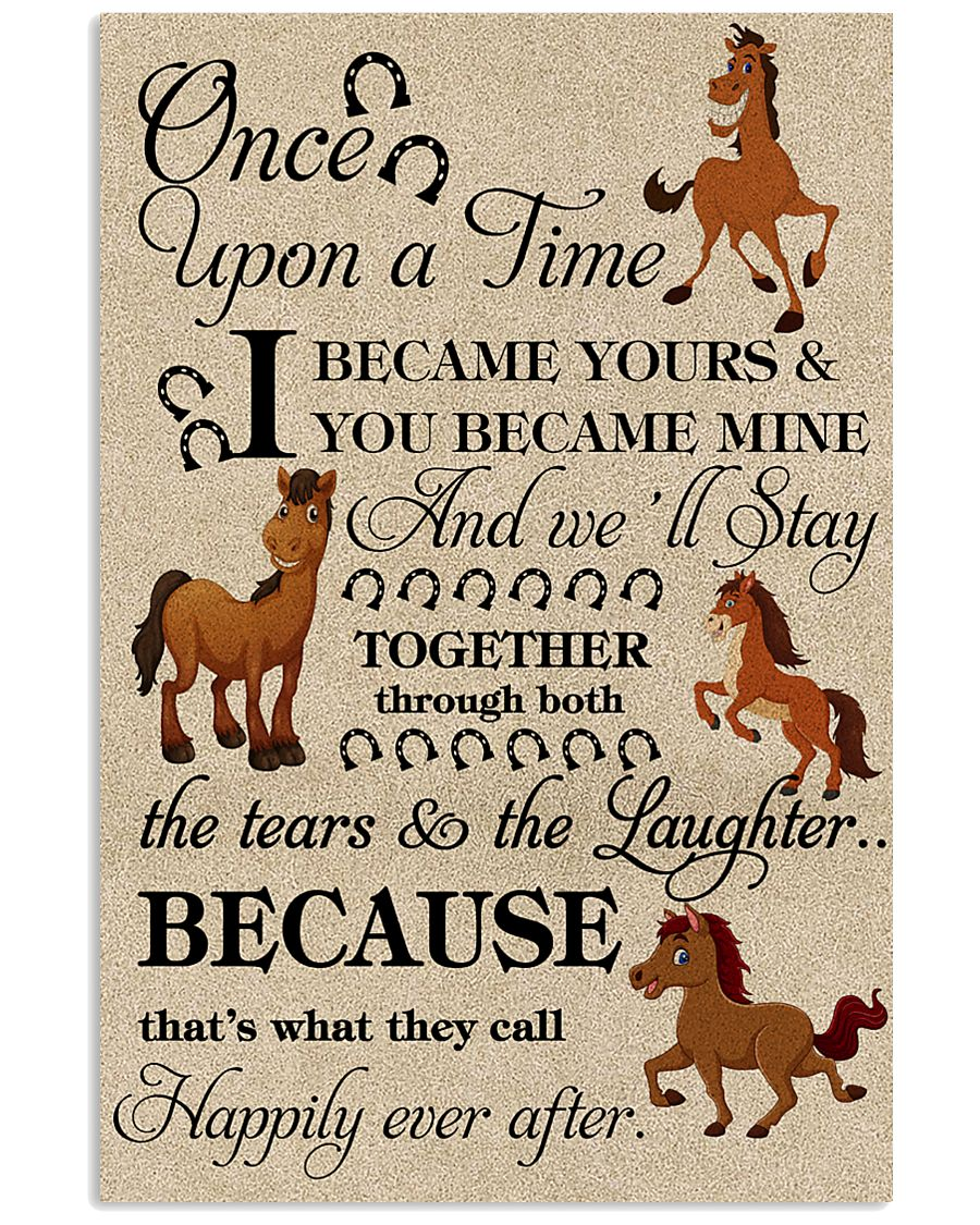 horse - ONE UPON A TIME POSTER 16x24 Poster