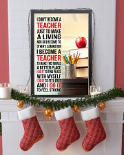 I DON'T BECOME A TEACHER JUST TO MAKE A LIVING 11x17 Poster lifestyle-holiday-poster-4