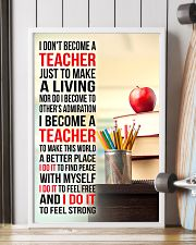 I DON'T BECOME A TEACHER JUST TO MAKE A LIVING 11x17 Poster lifestyle-poster-4