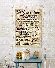 10 TO MY Soccer Girl - Mom 16x24 Poster lifestyle-holiday-poster-3