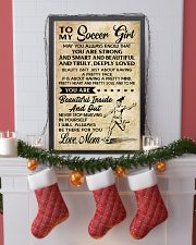 10 TO MY Soccer Girl - Mom 16x24 Poster lifestyle-holiday-poster-4