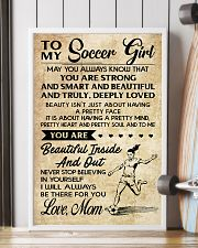 10 TO MY Soccer Girl - Mom 16x24 Poster lifestyle-poster-4