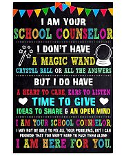 I AM YOUR SCHOOL COUNSELOR POSTER 11x17 Poster front