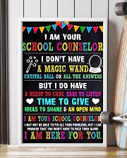 I AM YOUR SCHOOL COUNSELOR POSTER 11x17 Poster lifestyle-poster-4