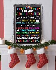 I AM YOUR SCHOOL COUNSELOR POSTER 16x24 Poster lifestyle-holiday-poster-4