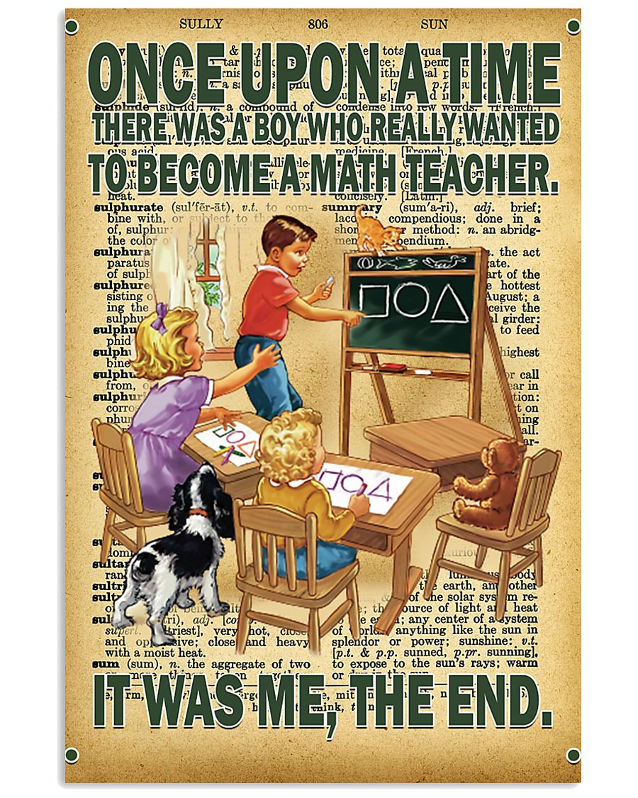Teacher - Once Upon A Time There Was A Boy poster 11x17 Poster