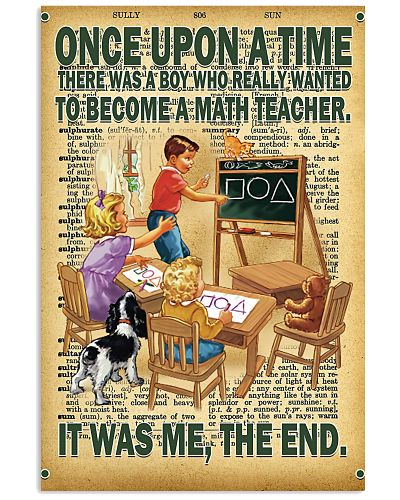 Teacher - Once Upon A Time There Was A Boy poster