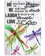 DRAGONFLY DO BE LAUGH LOVE POSTER 11x17 Poster front