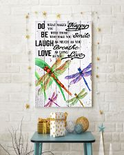 DRAGONFLY DO BE LAUGH LOVE POSTER 11x17 Poster lifestyle-holiday-poster-3