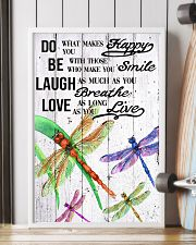DRAGONFLY DO BE LAUGH LOVE POSTER 11x17 Poster lifestyle-poster-4