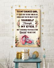 TO MY DANCE GIRL - YOU ARE TO ME 11x17 Poster lifestyle-holiday-poster-3
