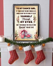 TO MY DANCE GIRL - YOU ARE TO ME 11x17 Poster lifestyle-holiday-poster-4