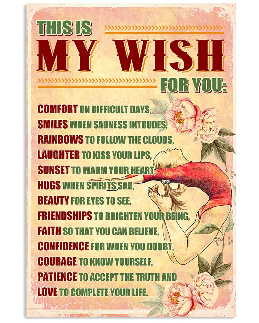 GYMNASTICS - THIS IS MY WISH FOR YOU 11x17 Poster