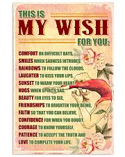GYMNASTICS - THIS IS MY WISH FOR YOU 11x17 Poster front