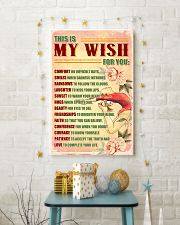 GYMNASTICS - THIS IS MY WISH FOR YOU 11x17 Poster lifestyle-holiday-poster-3