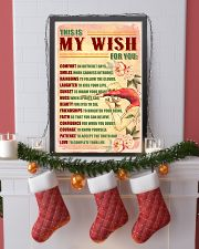 GYMNASTICS - THIS IS MY WISH FOR YOU 11x17 Poster lifestyle-holiday-poster-4