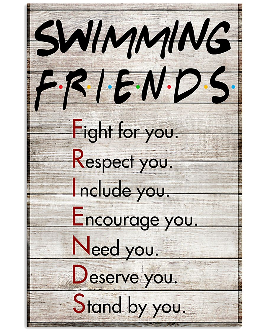Swimming Friends - Poster 11x17 Poster