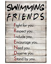 Swimming Friends - Poster 11x17 Poster front
