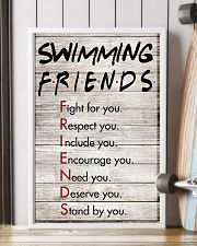 Swimming Friends - Poster 11x17 Poster lifestyle-poster-4