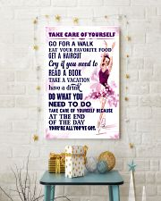 Take care of yourself - SKATING 11x17 Poster lifestyle-holiday-poster-3