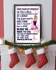 Take care of yourself - SKATING 11x17 Poster lifestyle-holiday-poster-4