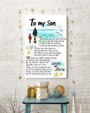 TO MY SON - I SOMETIMES WISH 11x17 Poster lifestyle-holiday-poster-3
