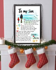TO MY SON - I SOMETIMES WISH 11x17 Poster lifestyle-holiday-poster-4
