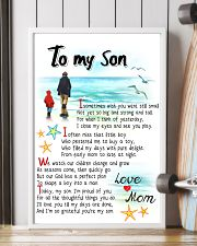 TO MY SON - I SOMETIMES WISH 11x17 Poster lifestyle-poster-4