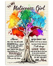 YourSelf - Motocrossf girl 11x17 Poster front