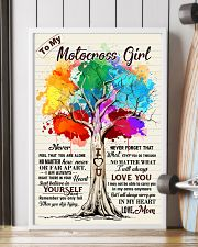 YourSelf - Motocrossf girl 11x17 Poster lifestyle-poster-4