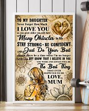 18 TO MY DAUGHTER - I LOVE YOU- Mum 16x24 Poster lifestyle-poster-4