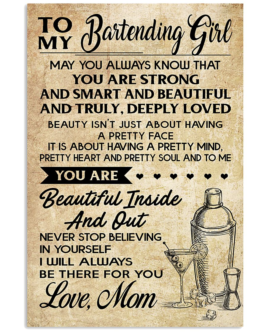 TO MY BARTENDING GIRL 16x24 Poster