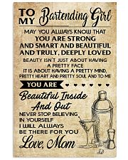 TO MY BARTENDING GIRL 16x24 Poster front