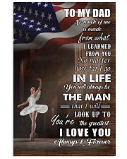 dance - to my dad so much of me poster - SR 11x17 Poster front