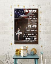dance - to my dad so much of me poster - SR 11x17 Poster lifestyle-holiday-poster-3