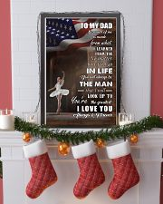 dance - to my dad so much of me poster - SR 11x17 Poster lifestyle-holiday-poster-4