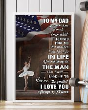 dance - to my dad so much of me poster - SR 11x17 Poster lifestyle-poster-4