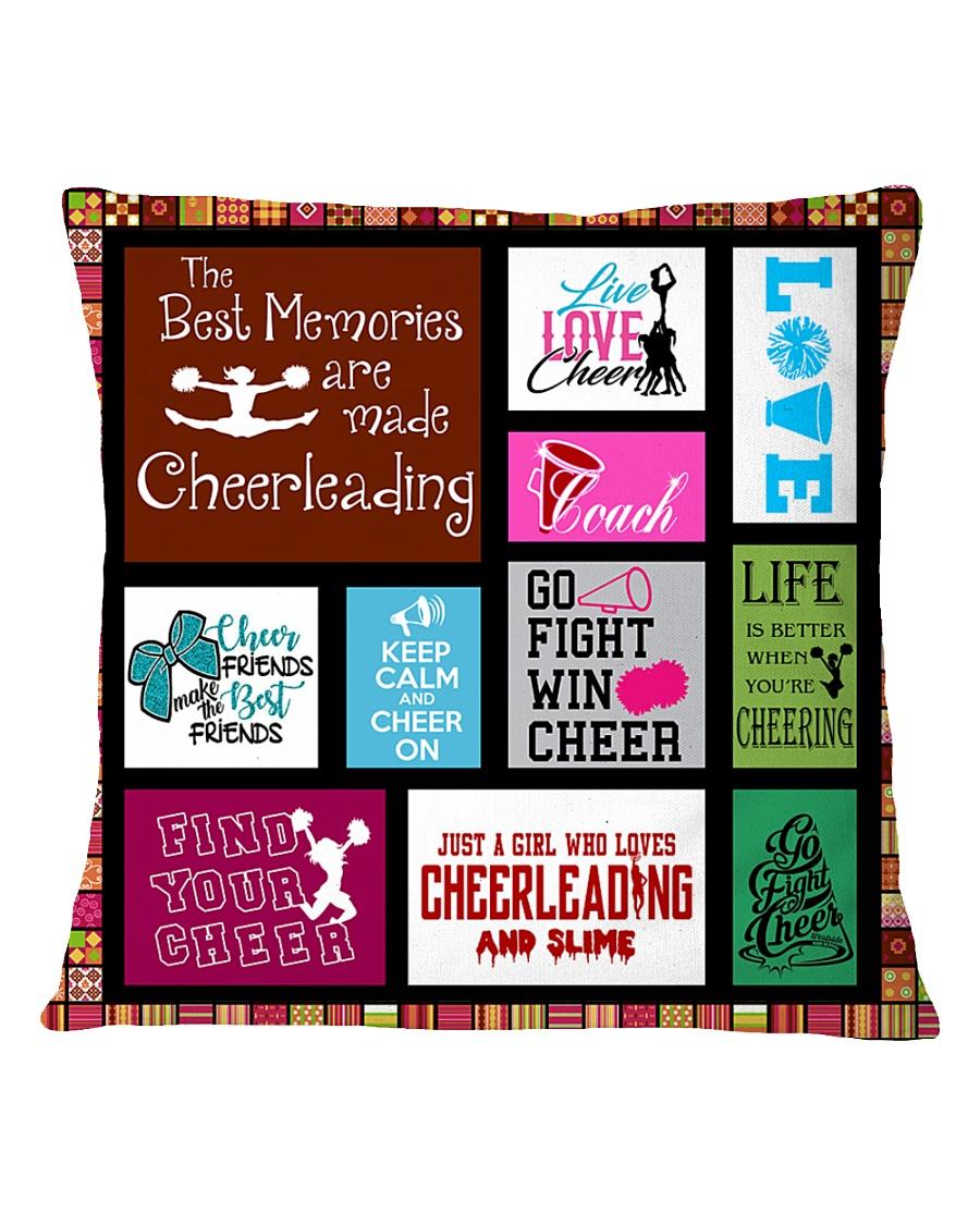 1- cheerleading DECOR PILLOWCASE KD Square Pillowcase