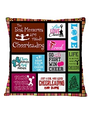 1- cheerleading DECOR PILLOWCASE KD Square Pillowcase front