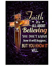 HORSE - FAITH IT'S ALL ABOUT BELIEVING 11x17 Poster front