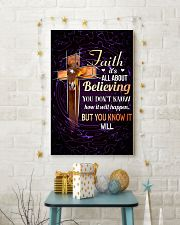 HORSE - FAITH IT'S ALL ABOUT BELIEVING 11x17 Poster lifestyle-holiday-poster-3