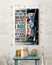1- I DON'T RIDE MY BIKE TO WIN RACES 11x17 Poster lifestyle-holiday-poster-3