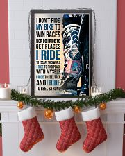 1- I DON'T RIDE MY BIKE TO WIN RACES 11x17 Poster lifestyle-holiday-poster-4