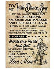TO MY Irish Dance Boy Mom 16x24 Poster front