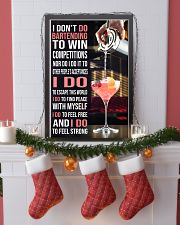 Bartender I DON'T DO TO WIN COMPETITION  11x17 Poster lifestyle-holiday-poster-4
