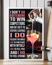 Bartender I DON'T DO TO WIN COMPETITION  11x17 Poster lifestyle-poster-4