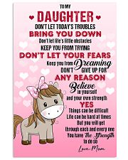 HORSE  - DON'T LET TODAY'S TROUBLES POSTER 11x17 Poster front